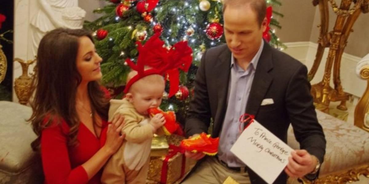 ¡Todo un cambio! Las diferencias en la foto familiar navideña de los Duques de Cambridge a través de los años