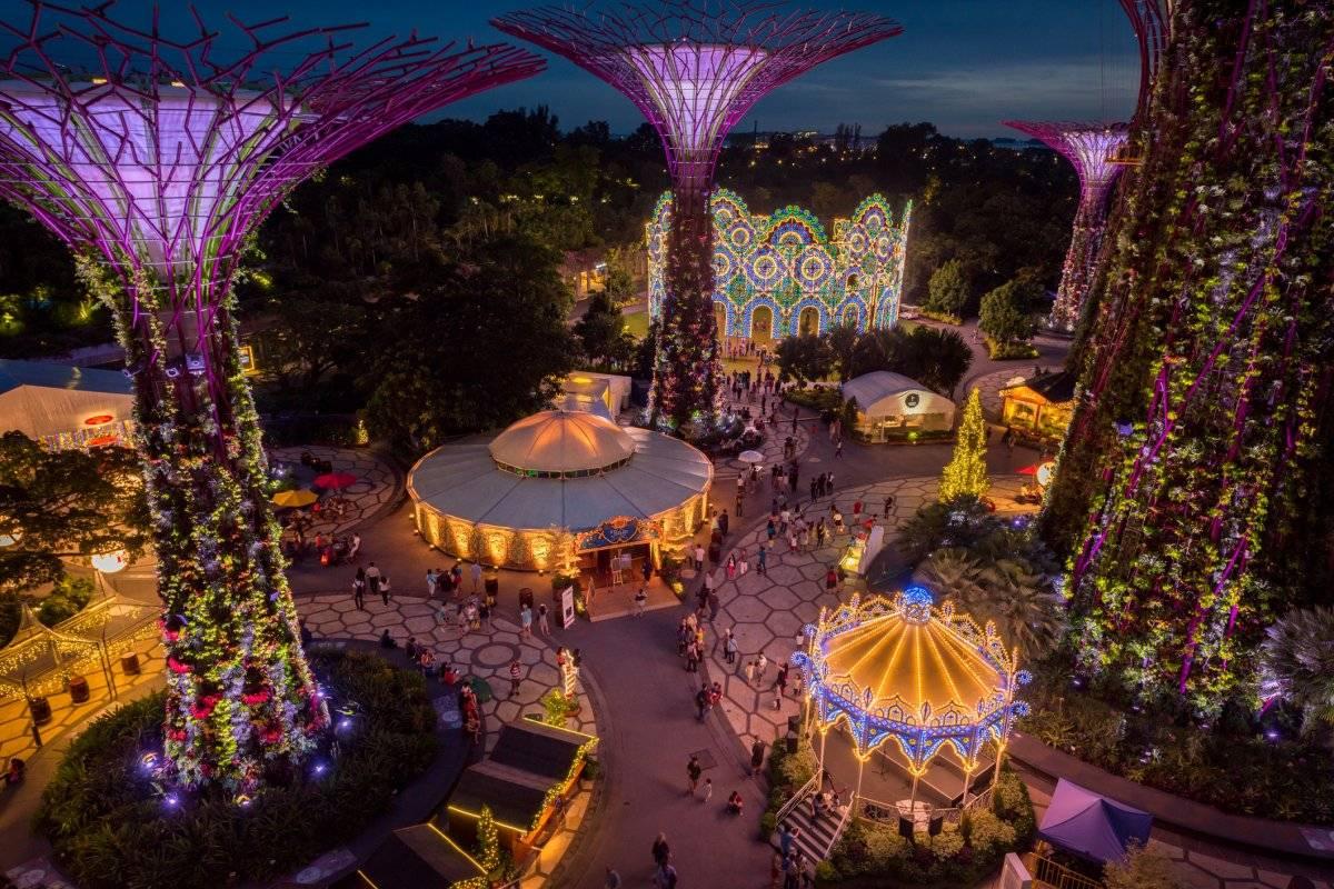 Ciudades ecológicas para celebrar Navidad
