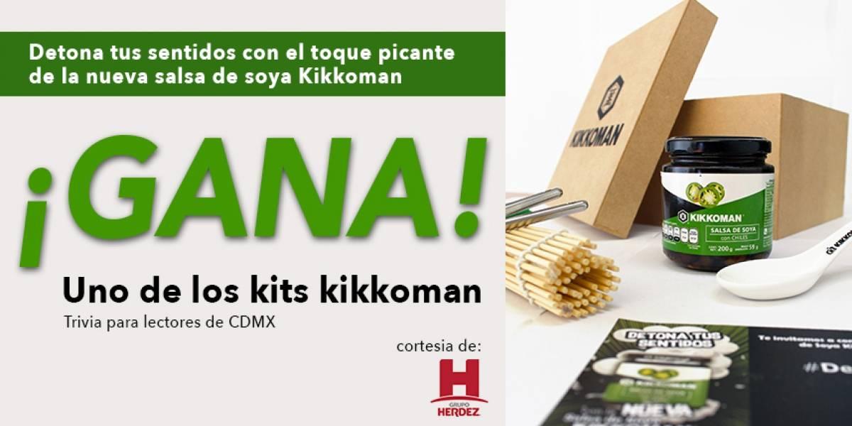 ¡Gana! Kit Kikkoman
