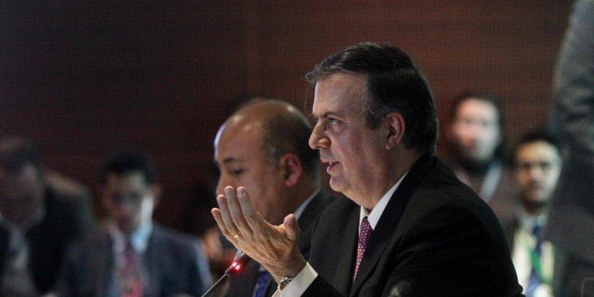 Pacto migratorio e inversión del Triángulo Norte, prioridades para la SRE