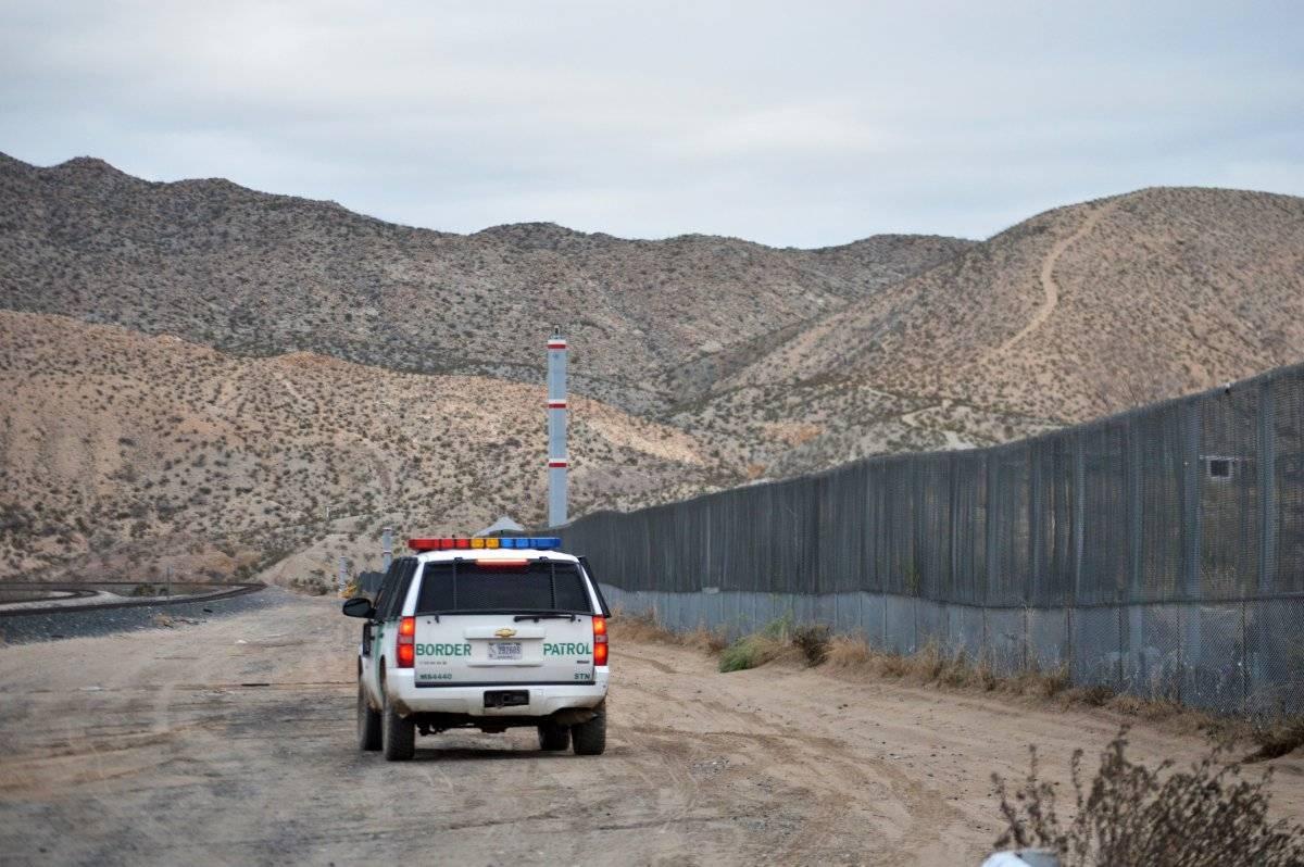Patrulla fronteriza en Estados Unidos. Foto: AP