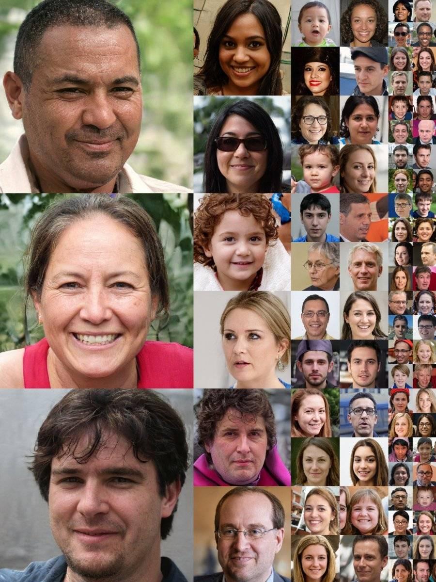 Adiós Valle Inquietante: NVIDIA crea una IA que diseña rostros exactos los reales