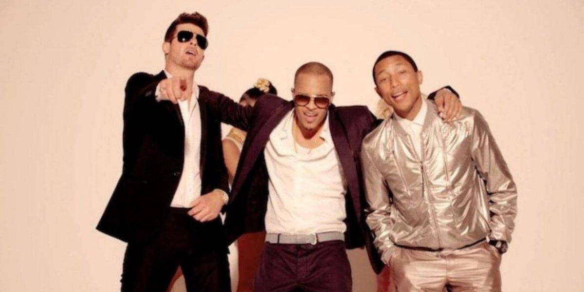 Pharrell Williams y Robin Thicke deberán pagar US$5 millones  por plagio