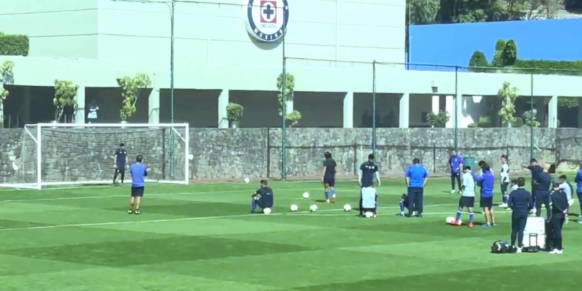 Cruz Azul practica penales para la final ante América
