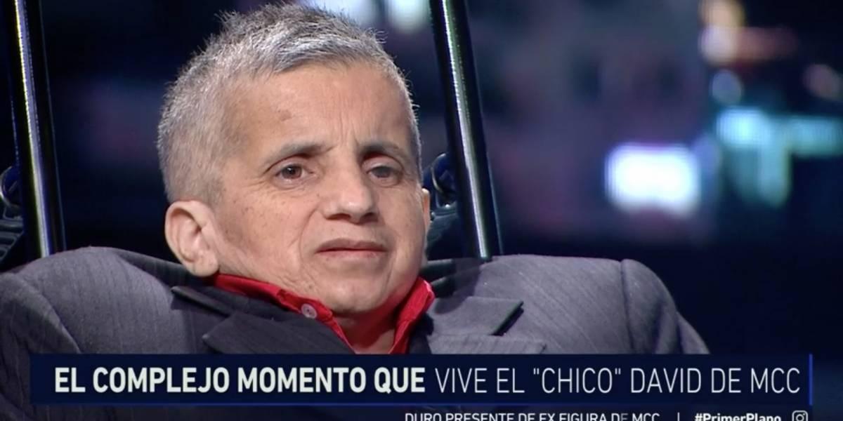 """""""Chico David"""", ex """"Morandé con Compañía"""", y su difícil momento: """"Kike Morandé nunca me ha llamado"""""""