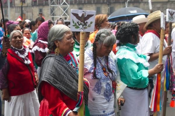 Con menos de 1% de consultados el Congreso elaboró la Ley Indígena