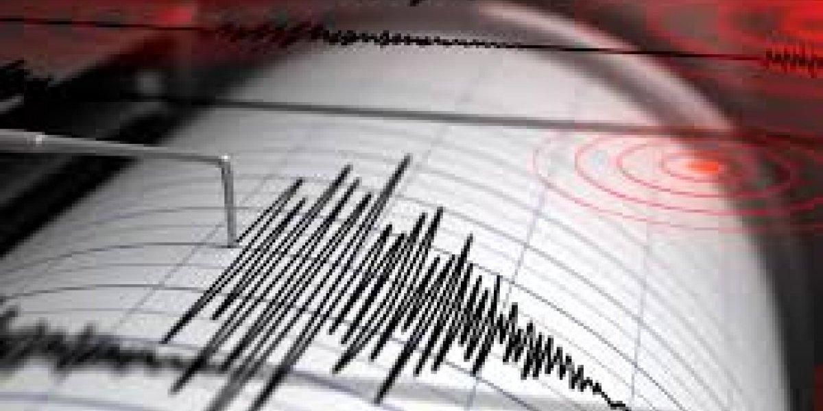 Se registró sismo de 4.9 en Esmeraldas
