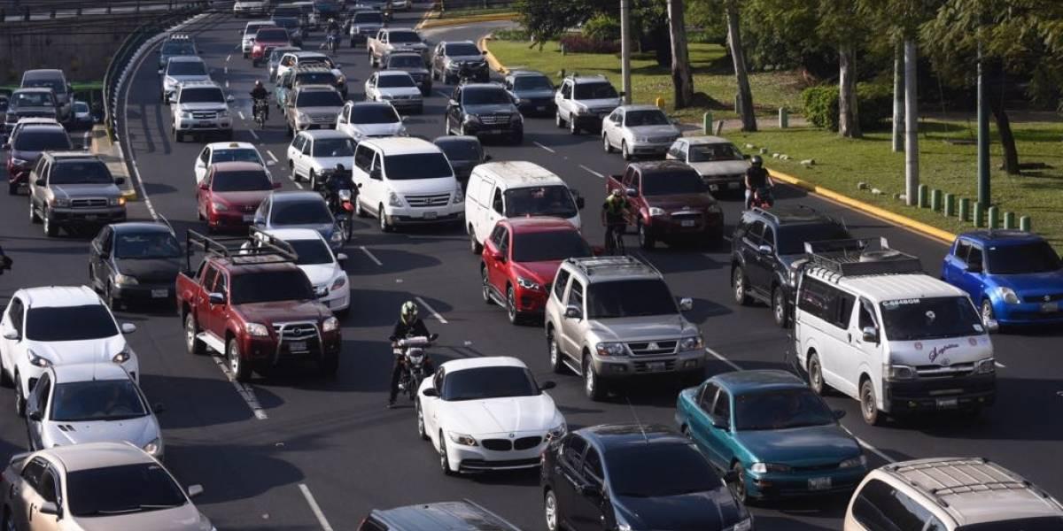 Anuncian exoneración de multas de tránsito en Mixco
