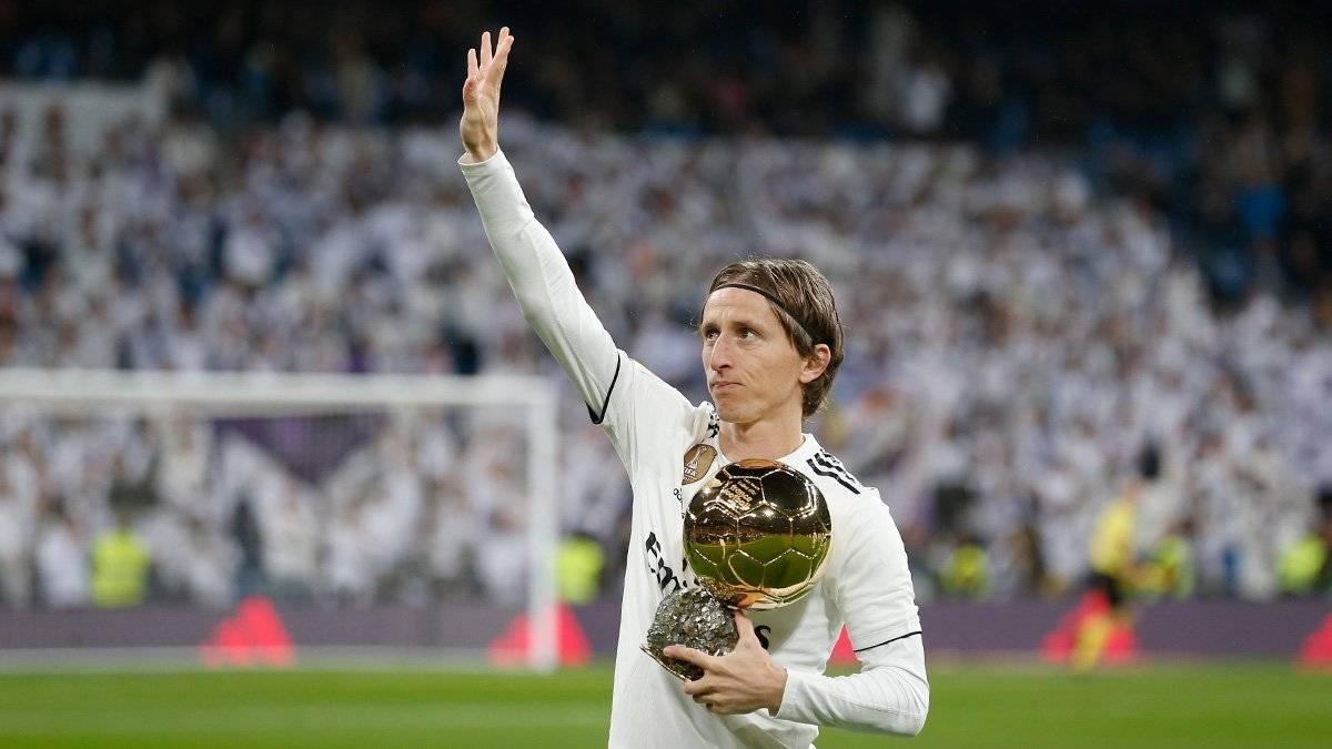 Presentó su máximo trofeo individual @realmadrid