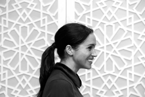Meghan Markle y su pronunciada 'pancita' en los Fashion Awards
