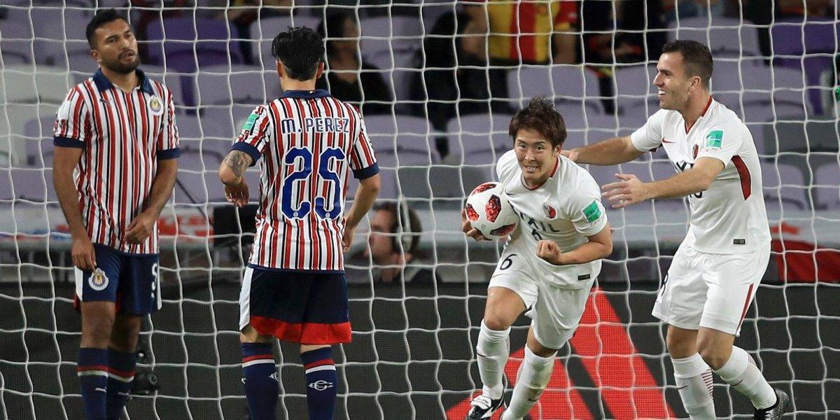 Kashima Antlers elimina a Chivas de Mundial de Clubes 2018