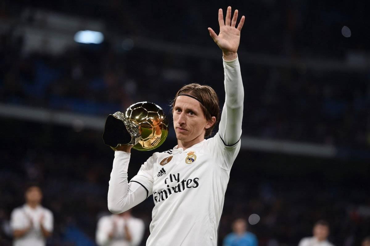 Presentó su máximo trofeo individual Getty Images