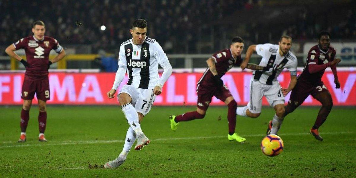 El clásico turinés fue para la imparable Juventus que ganó con gol de Cristiano Ronaldo
