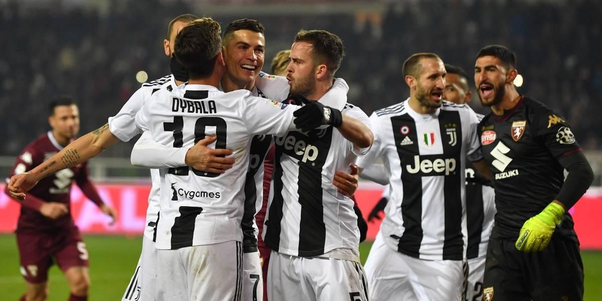Cristiano y Juventus aplastan a sus rivales en la Liga de Italia
