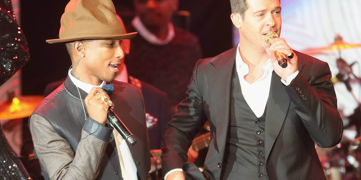 Confirman que Pharrell Williams y Robin Thicke plagiaron Blurred Lines a Marvin Gaye