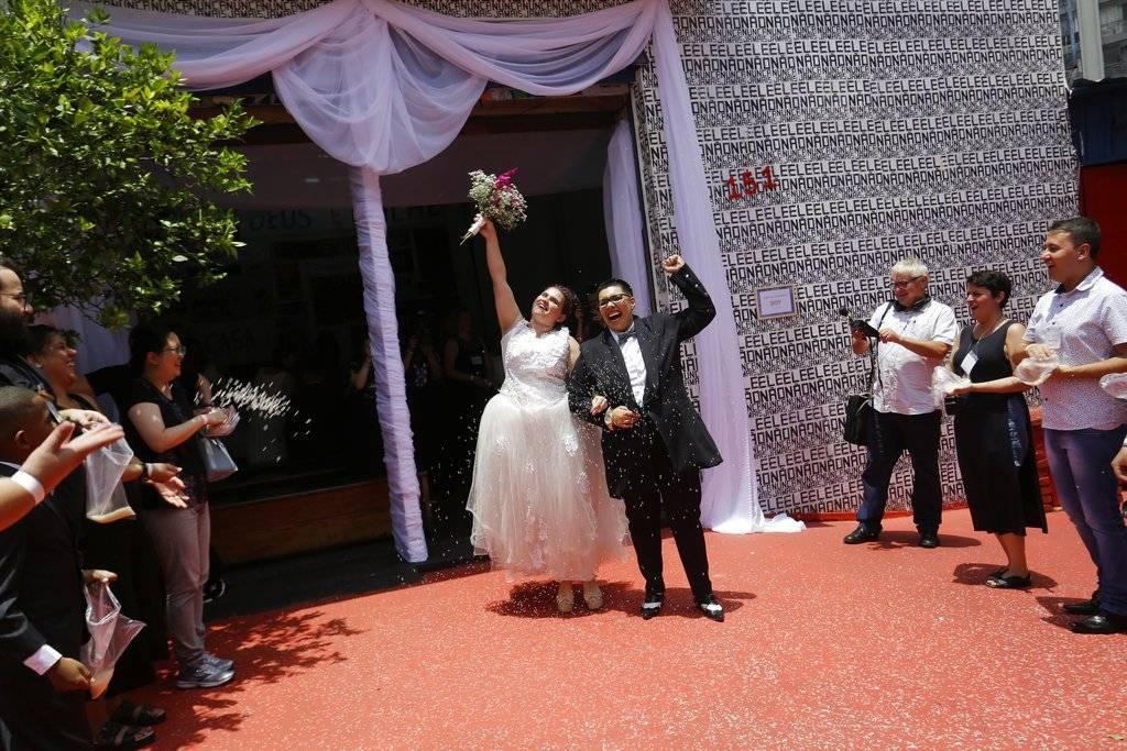 Matrimonios gay en Brasil