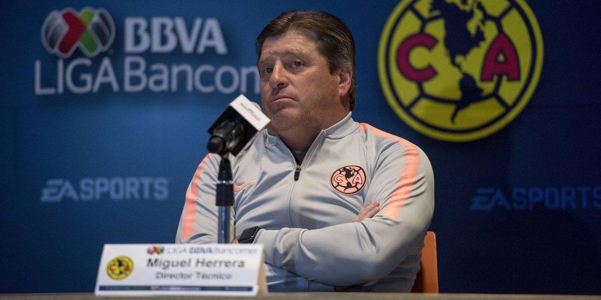 'América debe ser campeón sea como sea': Miguel Herrera