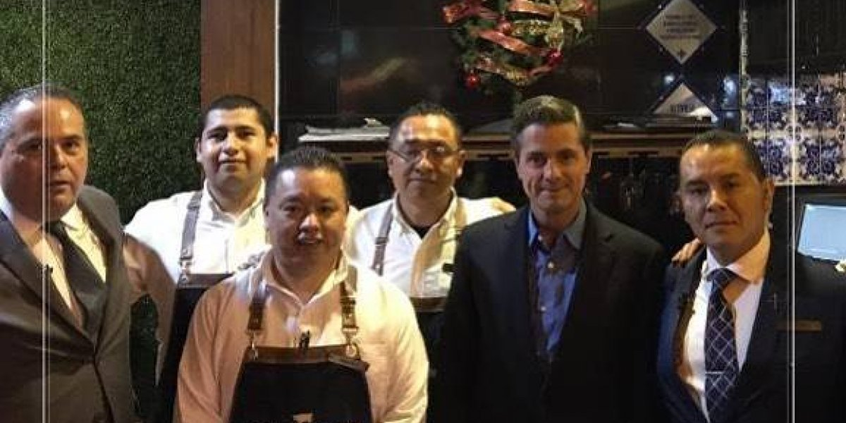 Enrique Peña Nieto reaparece en un restaurante en Toluca