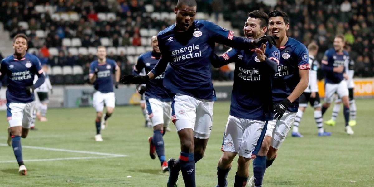 Mexicanos colaboran con buena actuación en otra victoria del PSV
