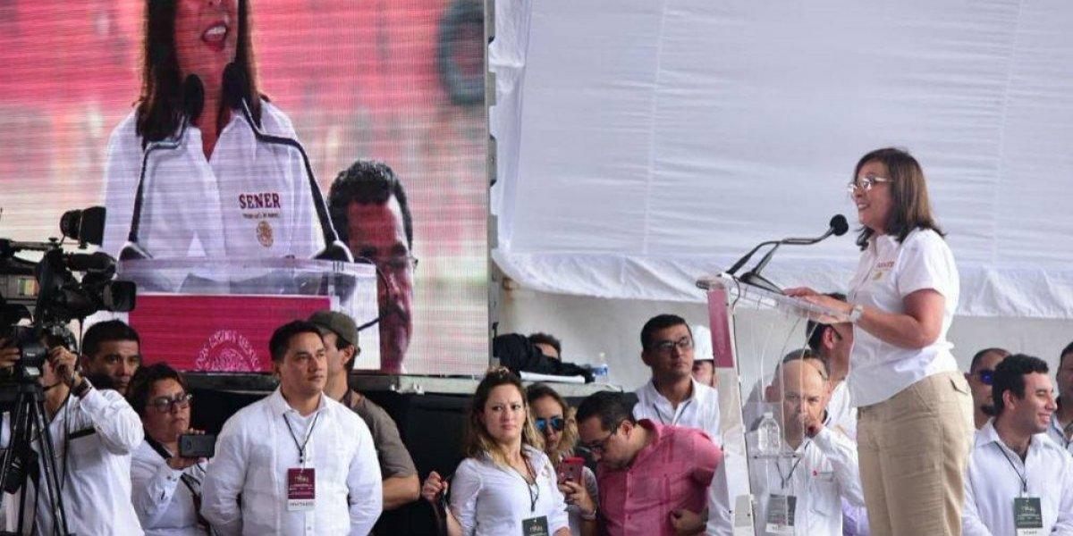 Rocío Nahle prepara mudanza de Sener a Villahermosa