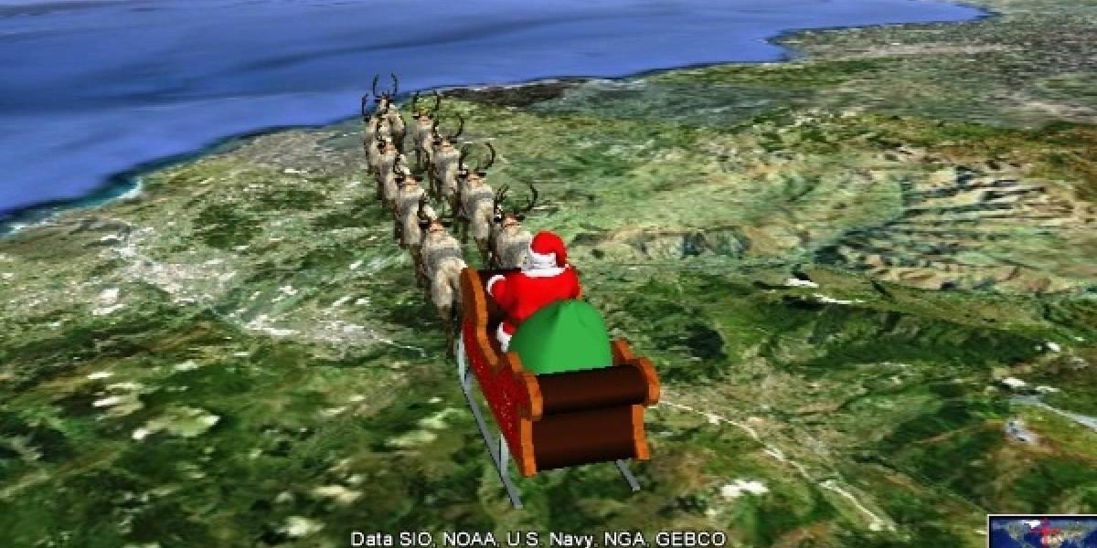 Sigue aquí la ruta de Santa Claus