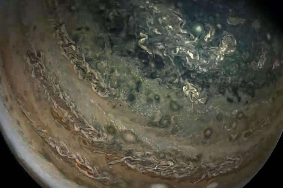 Imágenes de Júpiter nunca vistas