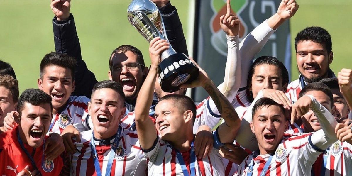 Chivas Sub 20 se proclama campeón del Apertura 2018