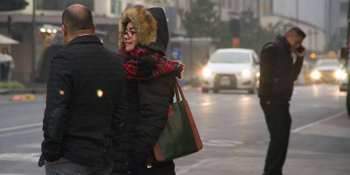 Frente frío 17: Prevén descenso de temperatura en todo el país