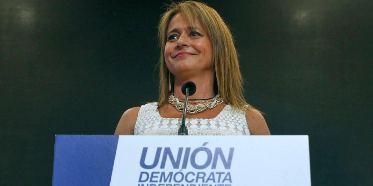 Elecciones de la UDI: Jacqueline Van Rysselberghe seguirá a la cabeza del partido