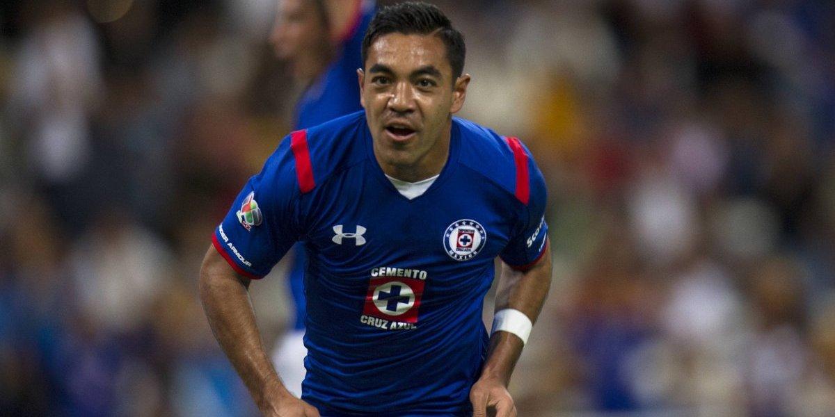 Marco Fabián apoya a Cruz Azul en la final ante América