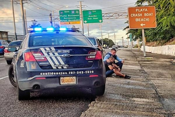 Policía preocupado
