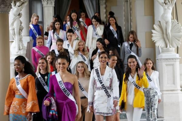 El mensaje  de candidatas antes del certamen Miss Universo