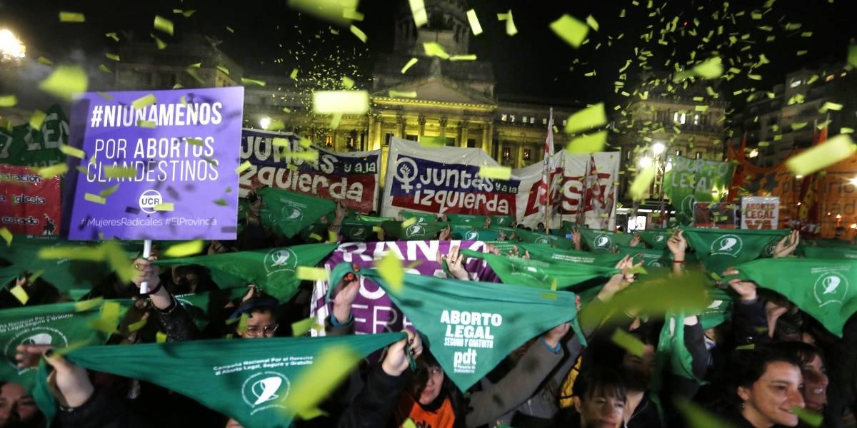 El 2018 se tiñó de verde con la marea feminista en Argentina