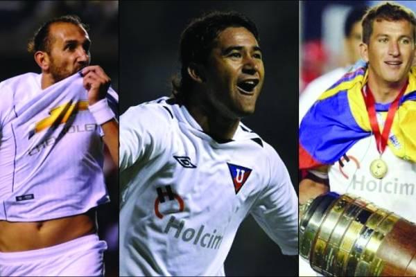 El mensaje de Hernán Barcos, Claudio Bieler y el 'Pato' Urrutia tras el campeonato de Liga de Quito