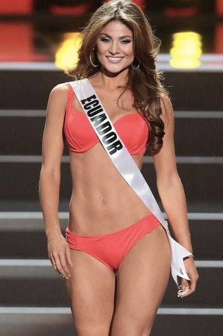 Constanza Báez, Miss Ecuador 2013 EFE