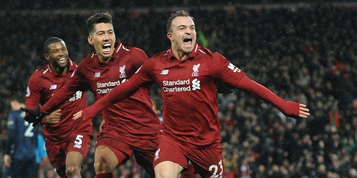 Liverpool sigue en la cima de la Premier League y hunde al Manchester United