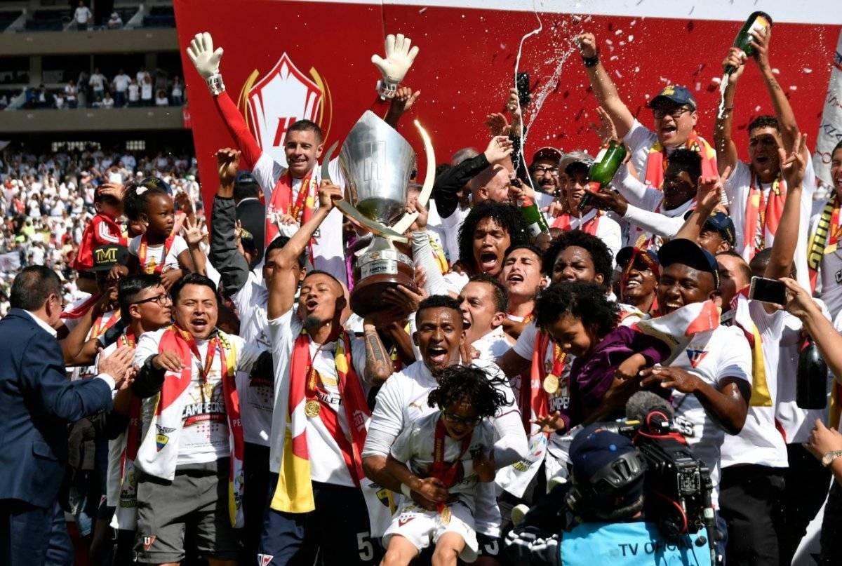 Los retos del campeón Liga de Quito para el 2019