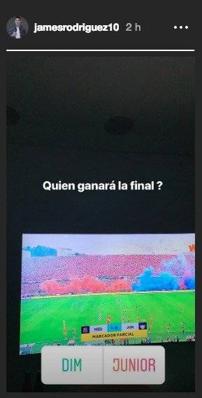 James sobre la final Medellín VS Junior