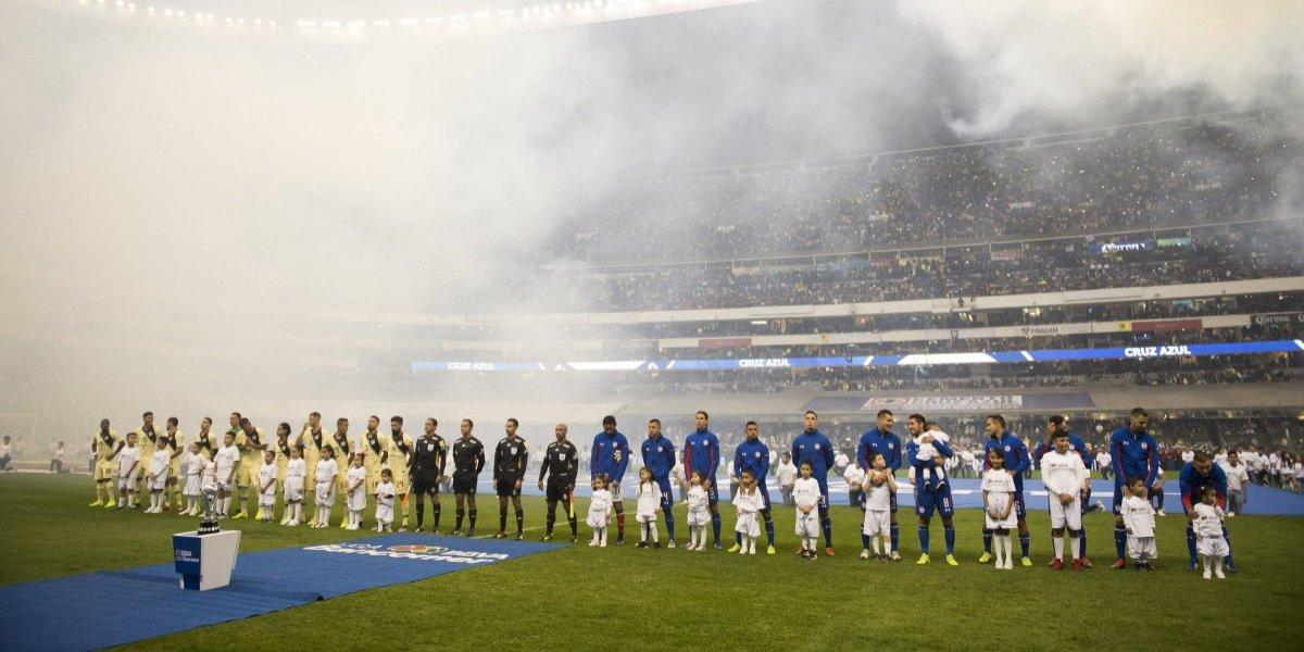 FOTOS: Así se vive la final de la Liga MX entre Cruz Azul y América
