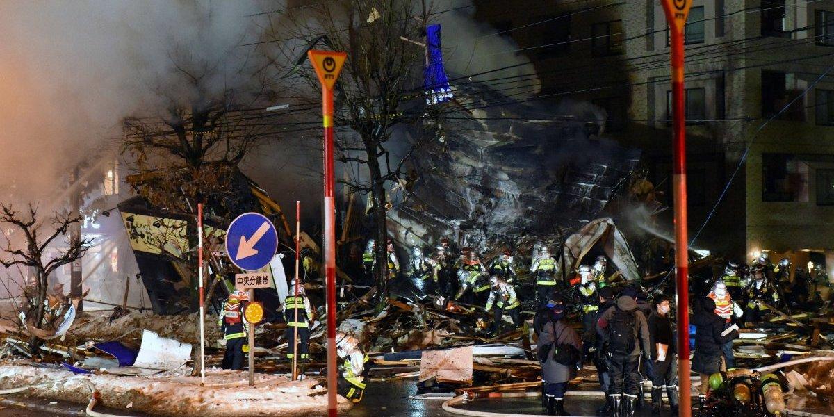 Explosión en restaurante de Japón deja más de 40 heridos