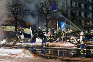 Explosión en restaurante de Japón