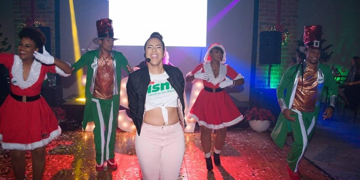ISM celebró la Navidad a ritmo de música típica