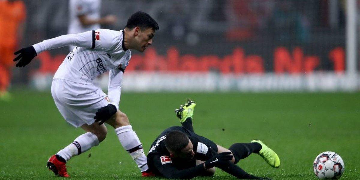 Charles Aránguiz fue titular en derrota del Bayer Leverkusen ante el Eintracht Fránkfurt