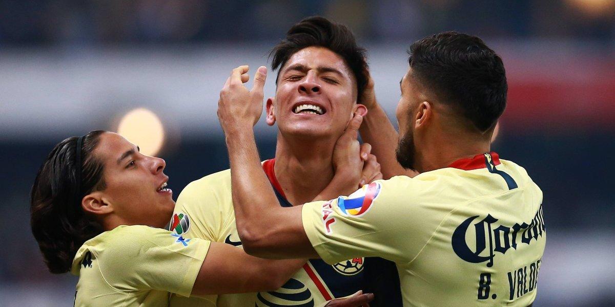 América se proclama campeón del Apertura 2018 tras vencer a Cruz Azul en el Estadio Azteca