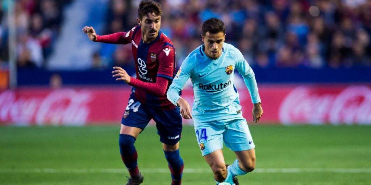 Así vivimos la goleada del Barcelona a domicilio ante el Levante con Vidal de titular