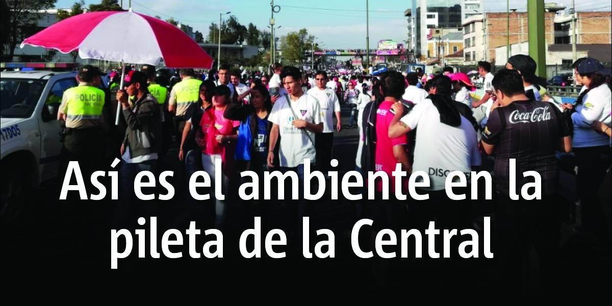 Liga de Quito: Calles cerradas por 'piletazo' de la celebración de la corona 11