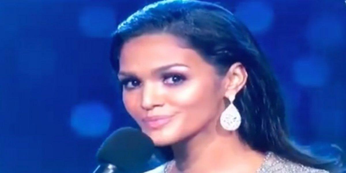 Kiara Liz queda fuera del Top 3 en Miss Universo 2018