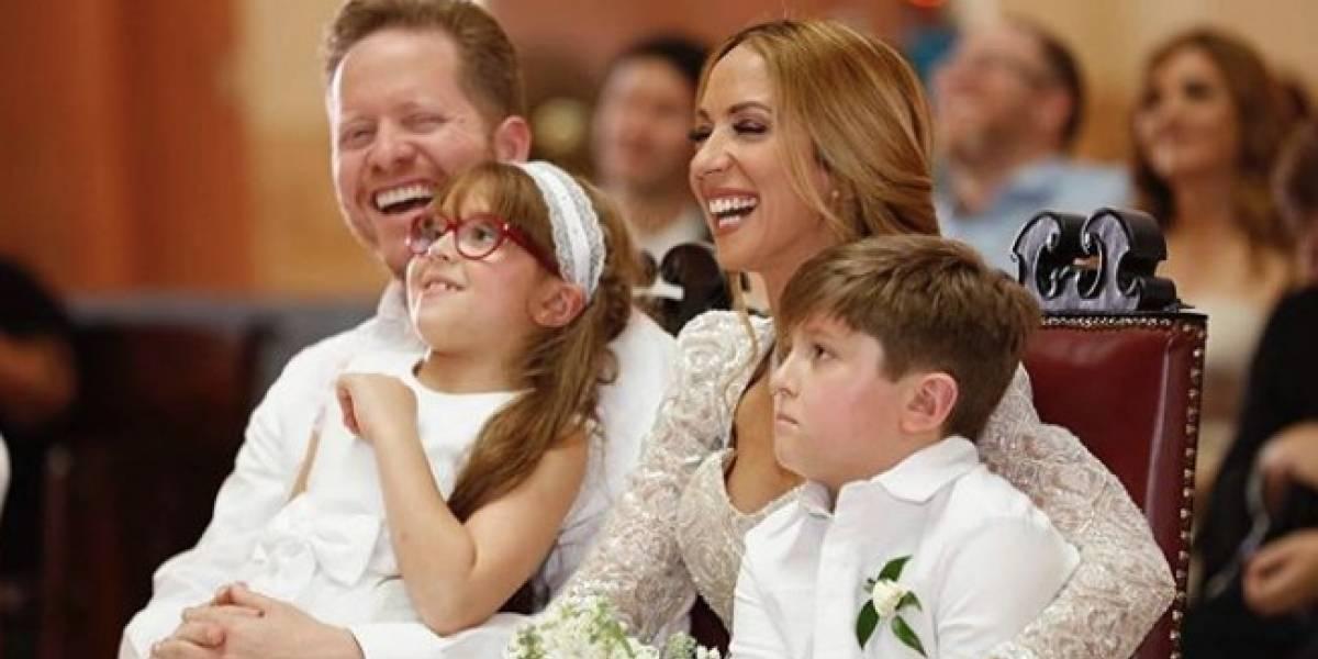 Alexandra Fuentes sigue celebrando su segunda boda con David Bernier