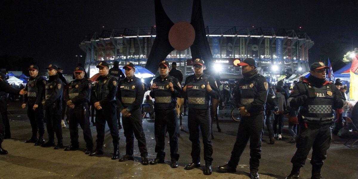 Cinco mil policías brindarán seguridad en la final Cruz Azul - América
