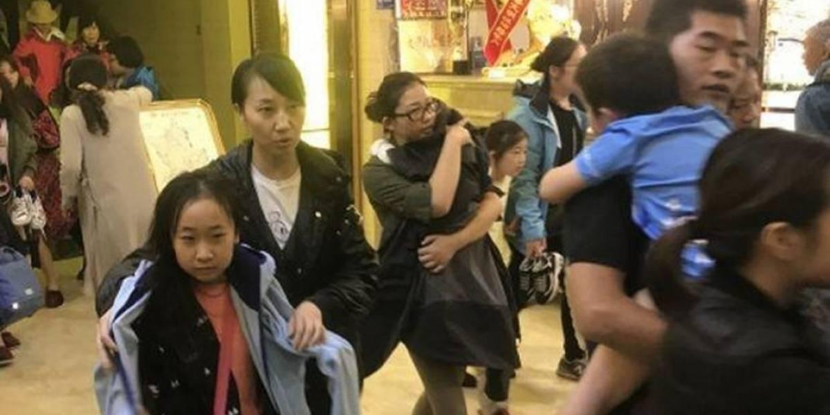 Un terremoto de 5,7 grados sacude centro de China sin dejar víctimas